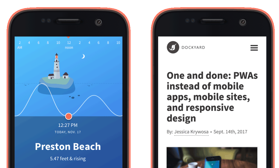 High Tide Progressive Web App